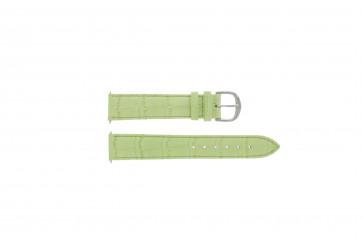 Davis klokkerem B0207 Lær Grønn 18mm