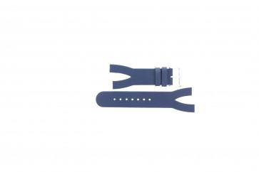 Klokkerem Davis BB1403 Lær Blå 10mm