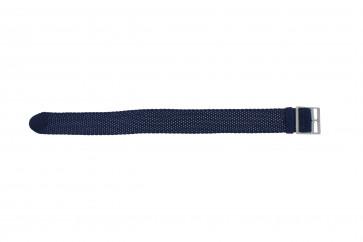 Perlon rem 20mm lys blå