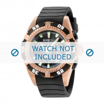 Breil klokkerem BW0410 Gummi Svart 22mm
