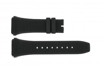 Klokkerem Breil BW0381 / BW0377 / SNAD23P2 / F260053202 Gummi Svart 28mm