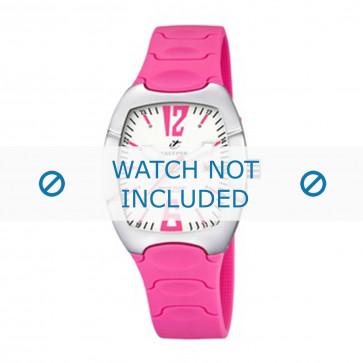 Calypso klokkerem K5161-5 Gummi / plast Rosa 11mm