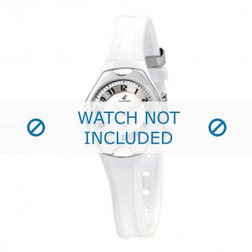 Klokkerem Calypso K5163-7 Plast Hvit 10mm
