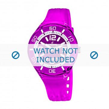 Calypso klokkerem K5588/6  Gummi / plast Purple