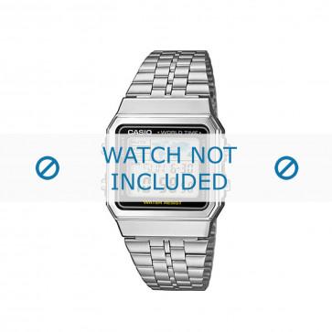 Klokkerem Casio A500WEA-1EF / A500WEA-1 / 10484919 Stål 18mm