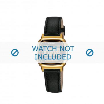 Klokkerem Casio LA670WEA-1EF / LA670WEA-1 / 10433814 Lær Svart 13mm