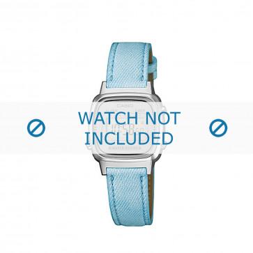 Casio klokkerem LA670WEL-2AEF / LA670WEL-2A  Lær Blå 13mm