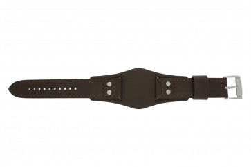 Fossil klokkerem CH-2890 / CH-2891 Lær Brun 22mm