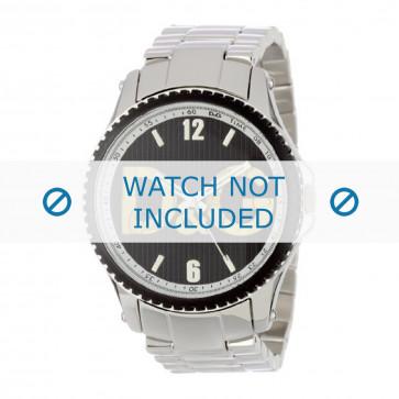Dolce & Gabbana klokkerem DW0703 Metall Sølv 22mm