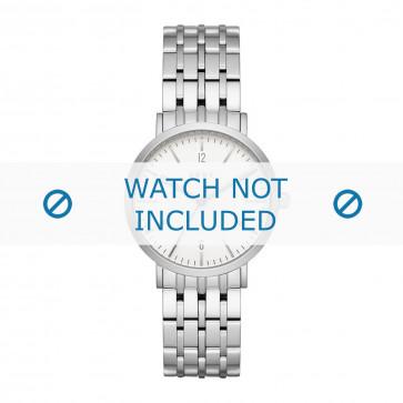 DKNY klokkerem NY2502 Metall Sølv 18mm