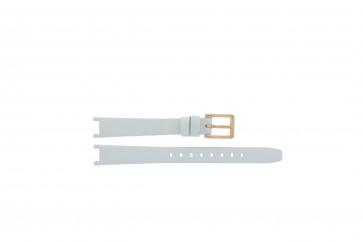 Klokkerem DKNY NY8784 Lær Hvit 8mm