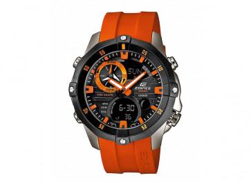 Casio klokkerem EMA-100B-1A4V / 5299 / 10449650 Gummi Oransje 22mm