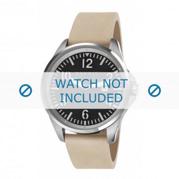 Klokkerem Esprit ES107601001-40L Lær Beige 22mm