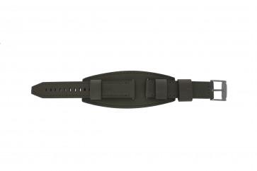 Fossil klokkerem JR1418 Lær Grå 20mm + standard sømmer