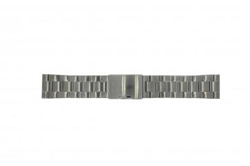 Fossil klokkerem FS4662 / 12XXXX / 25XXXX Metall Antrasittgrå 24mm