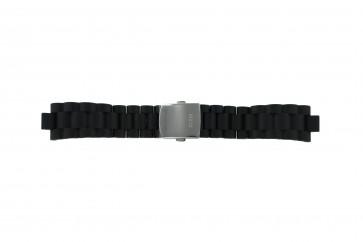 Guess klokkerem I15056L1 / I11040L1 / I11005G2  Gummi / plast Svart 22mm
