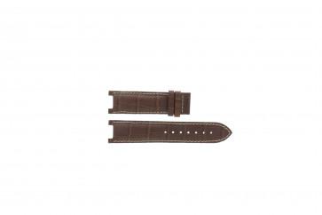 Bruin lederen Guess horlogeband GC31000G1