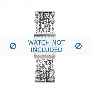 Guess klokkerem W0140l1 Metall Sølv