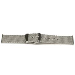 Geen merk klokkerem YI47 Metall Sølv 24mm