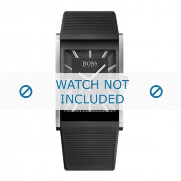Hugo Boss klokkerem HB1512980 / HB-218-1-14-2615 Gummi / plast Svart