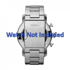 Fossil klokkerem JR1353 Metall Sølv 24mm