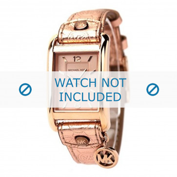 Klokkerem Michael Kors MK2248 Lær Rose 18mm