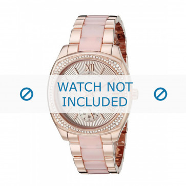 Michael Kors klokkerem MK6135 Metall Rose 20mm