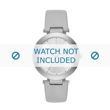 Klokkerem DKNY NY2460 Lær Grå 10mm