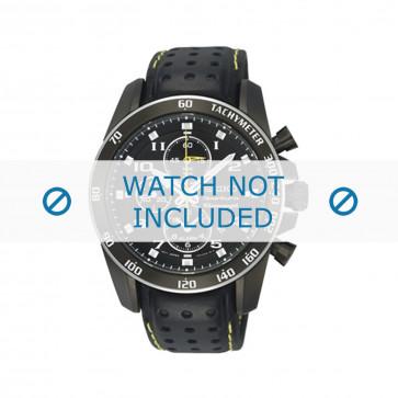 Klokkerem Seiko 7T62-0KV0 (04B) / SNAE67P1 / L01M012M0 Lær Svart 21mm
