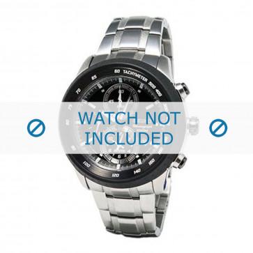Klokkerem Seiko 7T62-0HL0 / SNAB51P1 / SNAB51J1 Stål 24mm