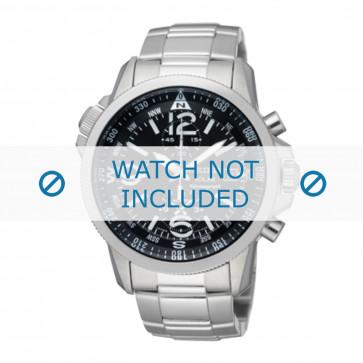 Seiko klokkerem V172-0AG0 / SSC075P1 Metall Sølv 21mm