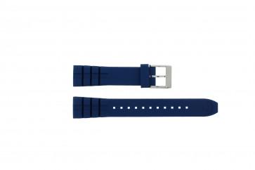 Klokkerem Seiko 5M62-0CS0 / SKA563P1 / R00F012J0 Gummi Blå 21mm