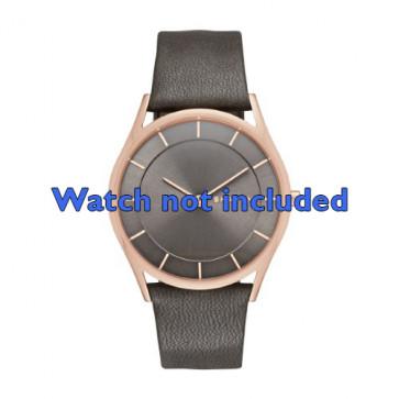 Klokkerem Skagen SKW2346 Lær Antrasittgrå 20mm