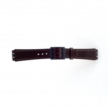 Klokkerem Swatch SC04.02 Lær Brun 17mm