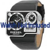 Klokkerem Diesel DZ7101 Lær Svart 39mm