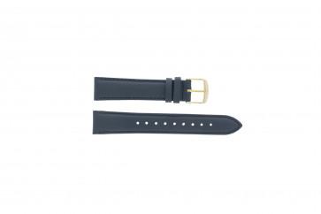 Timex klokkerem PW2P63400 Lær Blå mørk 18mm