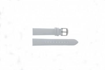Timex klokkerem T2N791 Lær Hvit 18mm