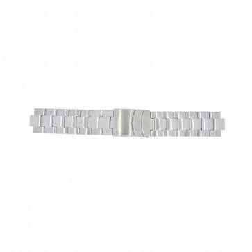Timex klokkerem T2N809 Stål Sølv 10mm