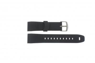 Klokkerem Timex TW2P44300 / TW2P44600 Gummi Svart 22mm