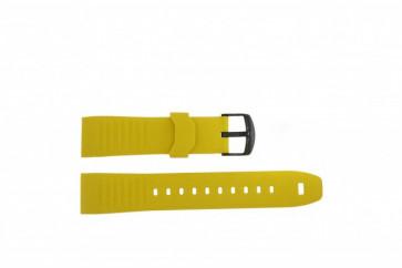 Timex klokkerem TW2P44500 Gummi Gul 22mm