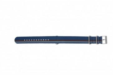 Timex klokkerem TW2P62400 Lær Blå 20mm