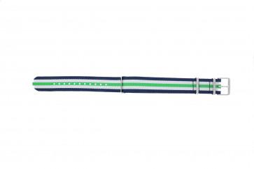 Timex klokkerem TW7C07000 Stoff Blå 20mm