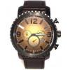 Klokkerem Fossil BQ2080 Lær Svart 24mm