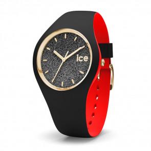 Klokkerem (Klokkebånd + boligkombinasjon) Ice Watch 007237 Gummi Svart