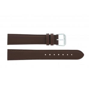 Klokkerem 054L.02.12 Lær Brun 12mm + søm brun