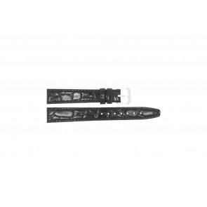 Klokkerem Condor 082R.01 Lær Svart 12mm