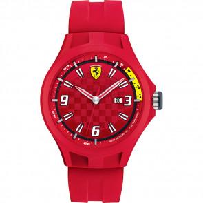 Klokkerem Ferrari 0830007 / SF689300005 Gummi Rød 22mm
