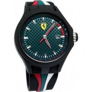 Ferrari klokkerem SF101.5 / 0830070 / SF689300050 Gummi Svart 22mm