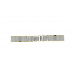 Klokkerem 16BI Metall Sølv 16mm