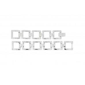 Lacoste klokkerem 2000490 / LC-05-3-18-0161 Metall Sølv 13mm